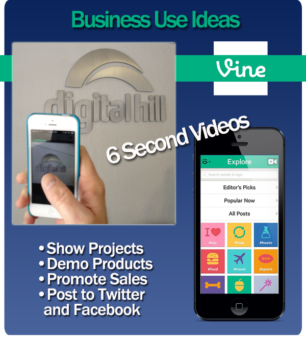 Vine App uses for Business