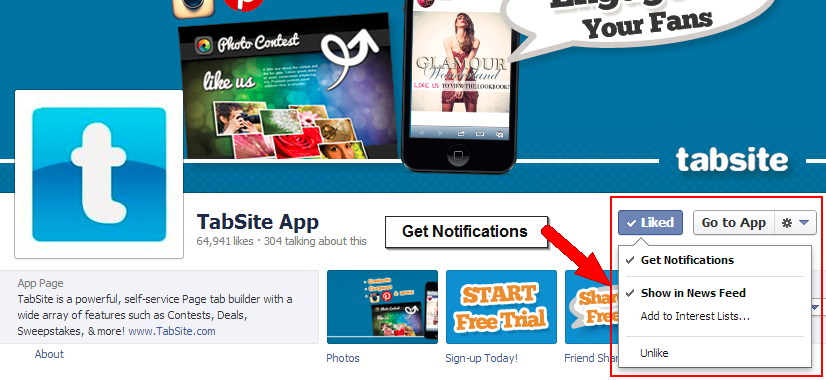 How to Get Facebook Notifications of all Posts a Page Makes
