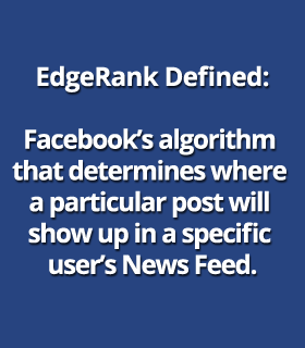 Facebook EdgeRank defined