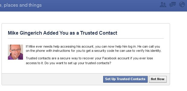 How to Setup Trusted Contacts Facebook Security Feature