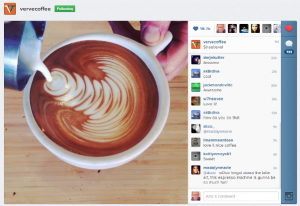 verve instagram 300x206 10 Ways Restaurants Can Use Social Media To Grow