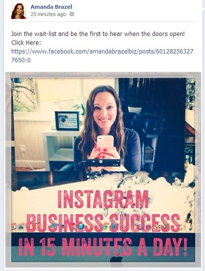 www facebook com amandabrazelbiz Visual Stories: 7 Ways Digital Marketers Can Use Images in Social Media