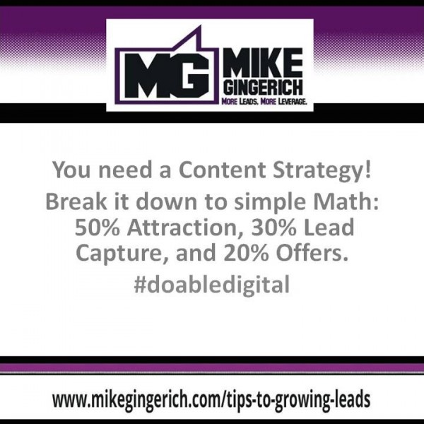 You need a Content Strategy!