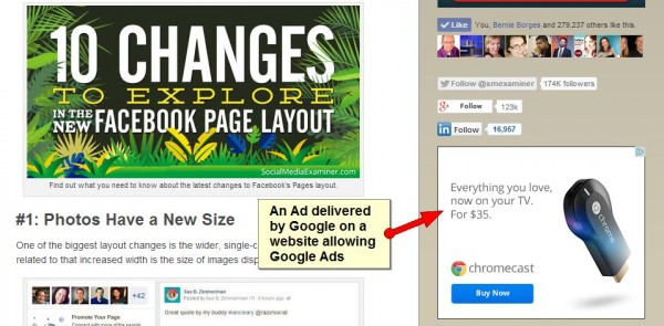 google ad retargeting
