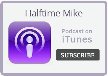 Halftime Mike Podcast on iTunes