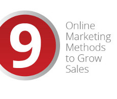 online marketing methods to grow sales
