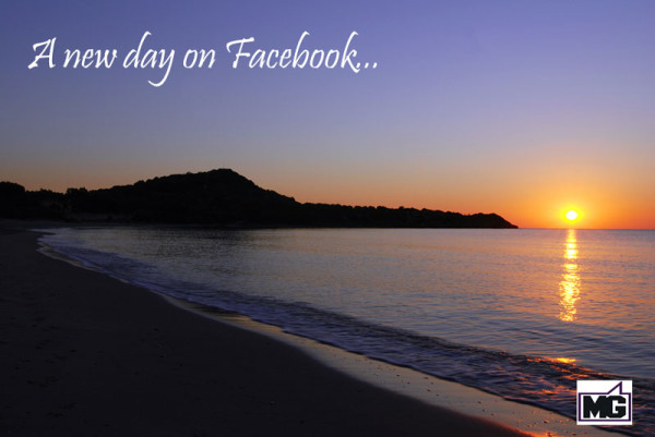 new day on facebook for marketers