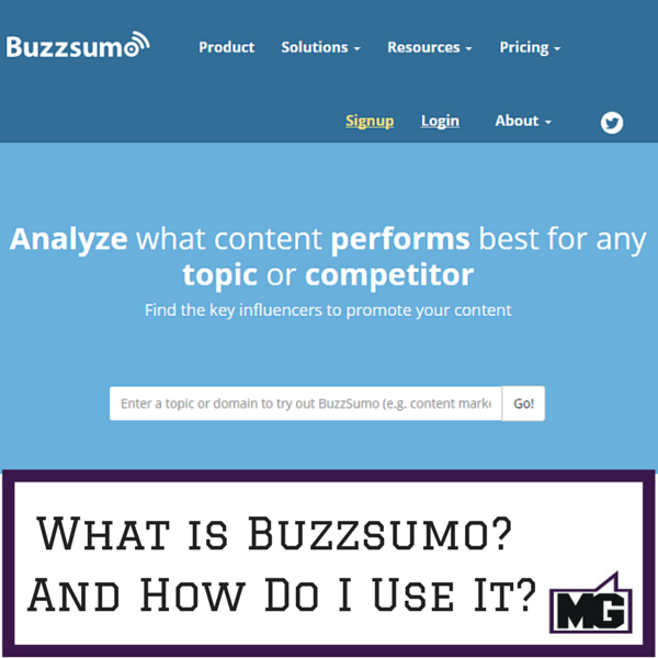 What is Buzzsumo- And How Do I Use It-