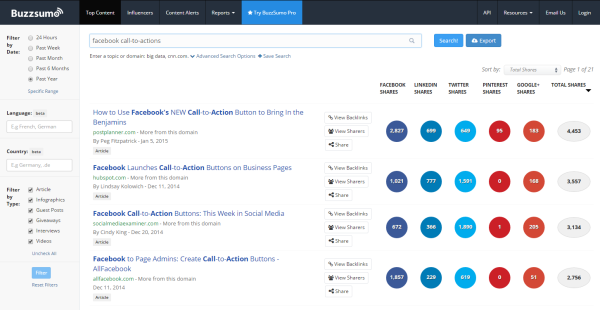 what is buzzsumo