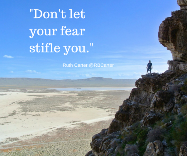 -Don't let your fear stifle you.- (1)