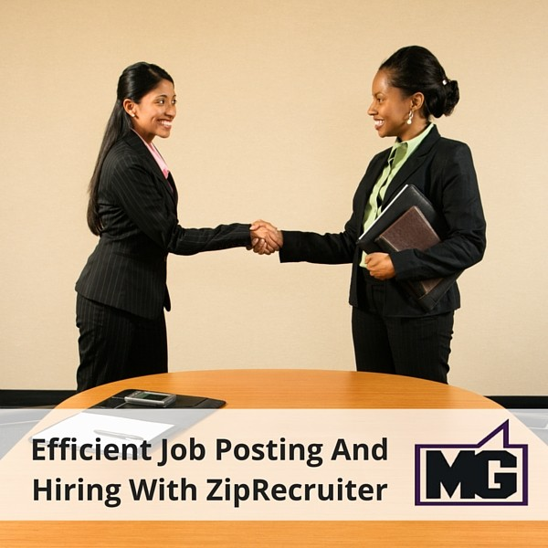 Efficient Job Posting And Hiring With ZipRecruiter (1)