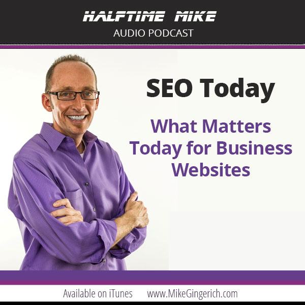 seo tips Mike Gingerich