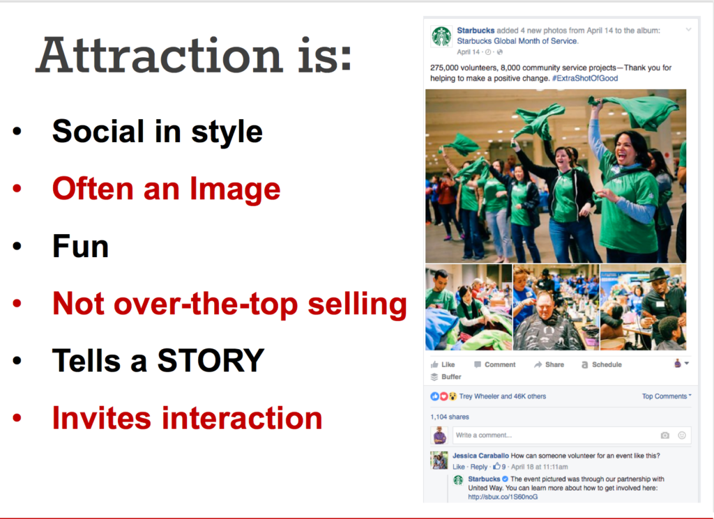Online Marketing Success: Attraction Content Tips