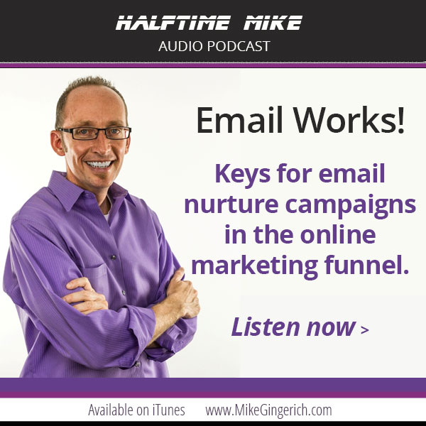 keys for email nurture campaigns