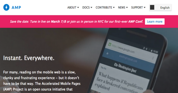 What is Google AMP_