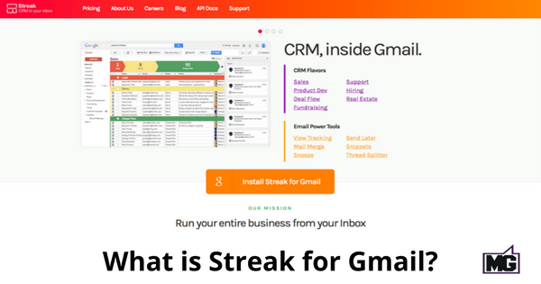 What is Streak for Gmail-315