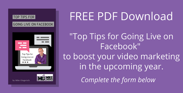 Top Tips for Going Live on Facebook